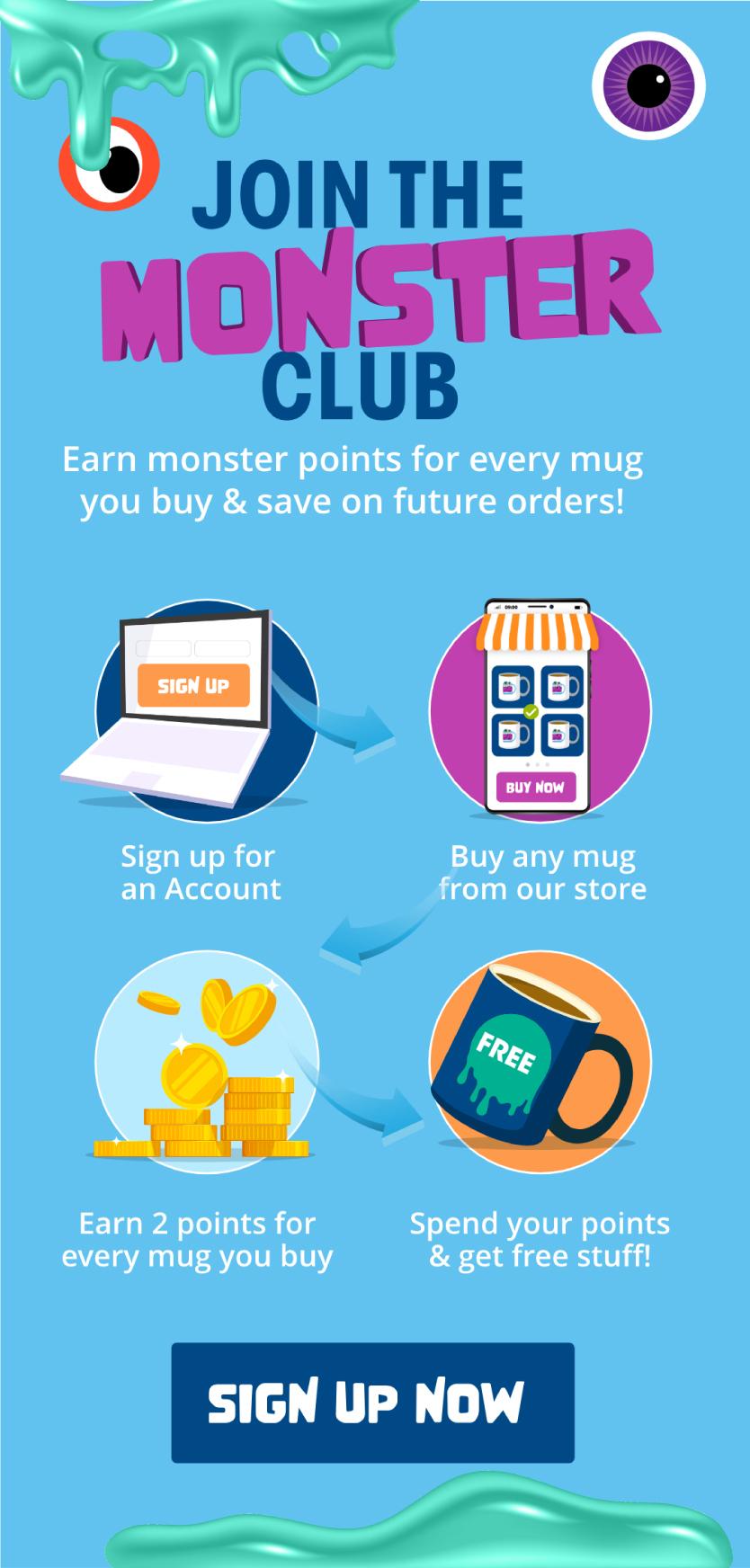 Sign up to Mug Monster